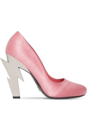 Prada 105mm Satin Pumps